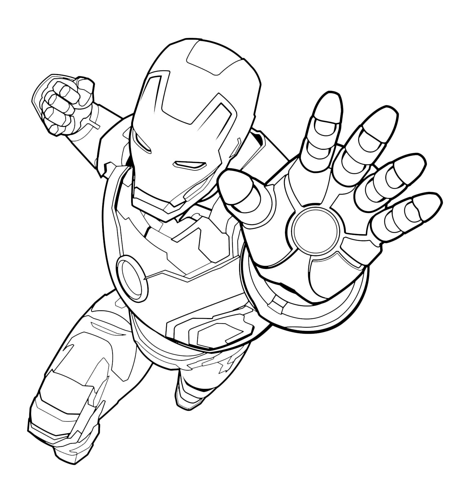 Disegni Da Colorare Con Iron Man.Iron Man Da Colorare I Coloring Page Disegni Da Colorare Disegni Libri Da Colorare