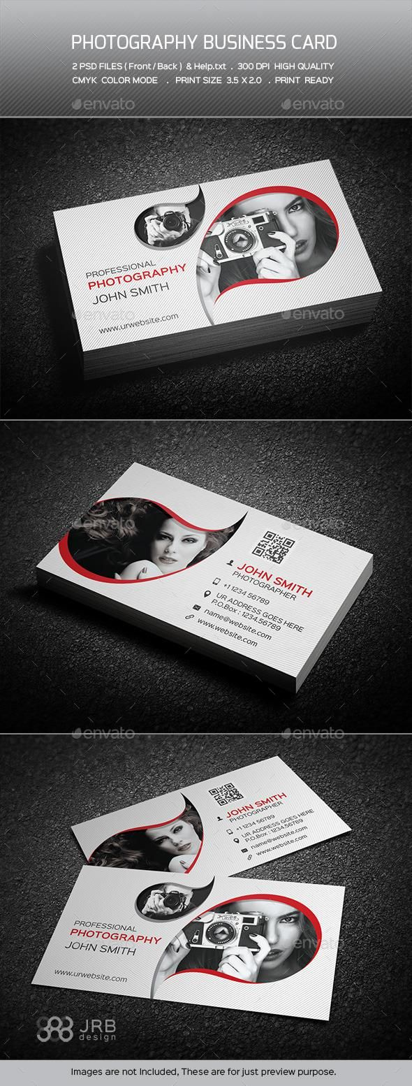 Photography Business Card | Photography business cards and Business ...
