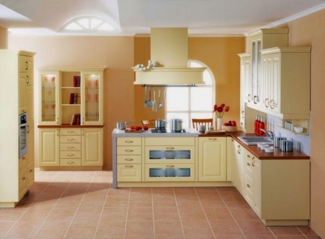 40 Best Kitchen Wall Paint Colors In Your Home Freshouz Com Kitchen Color Dark Cabinets Modern Kitchen Interiors Kitchen Paint Design