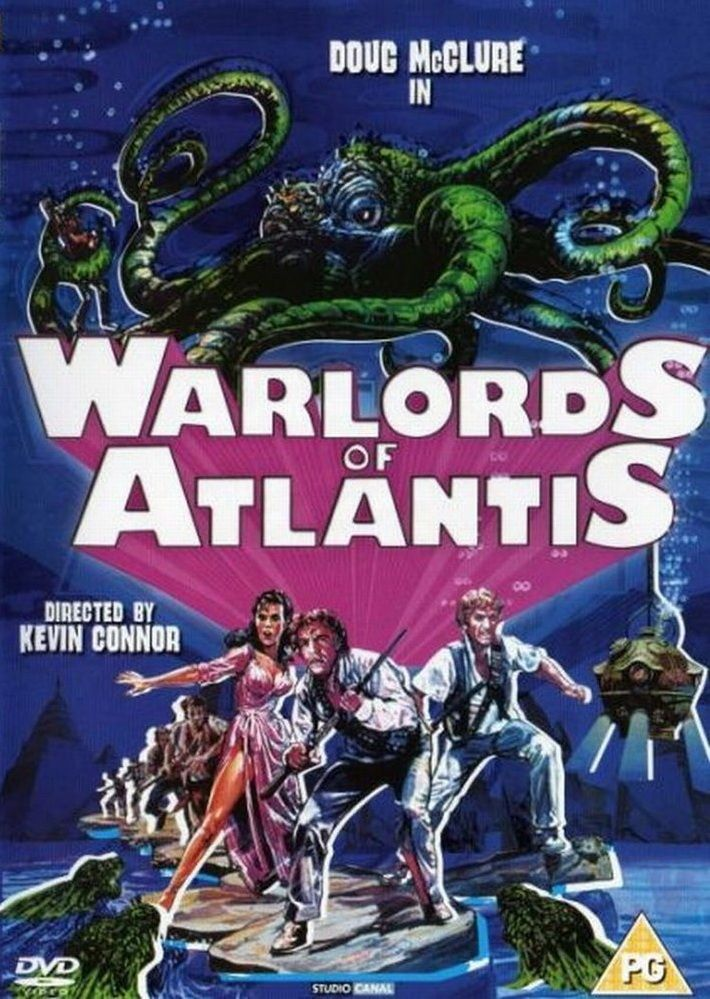 Warlords of Atlantis (1978) | Movie monsters, Classic sci fi movies, B movie