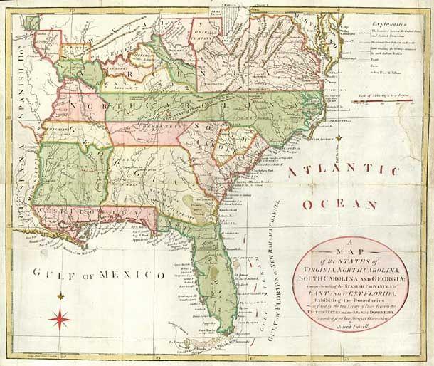 Maps Map Of Georgia And South Carolina Blog With Collection: Map Of Florida Georgia And North Carolina At Usa Maps
