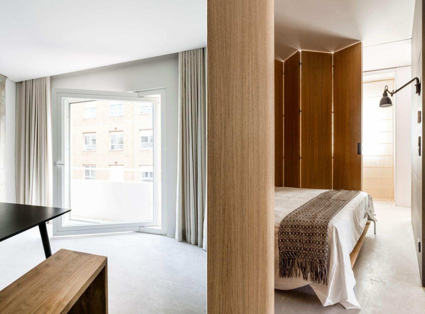 Holz Trennwand & Schiebetür aus Metall verwandeln offenes
