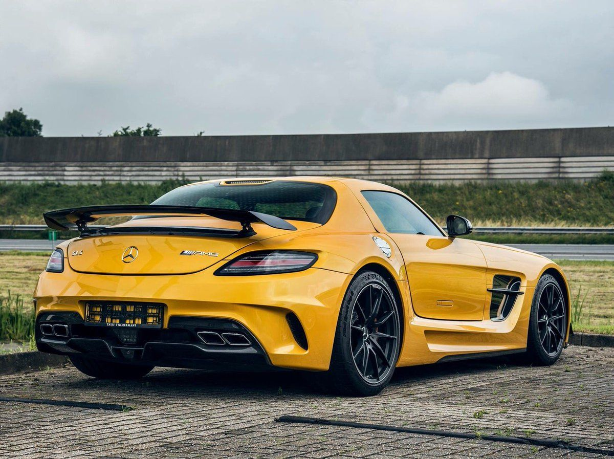Mercedes Benz Sls Amg Black Series Mercedes Benz Sls Amg