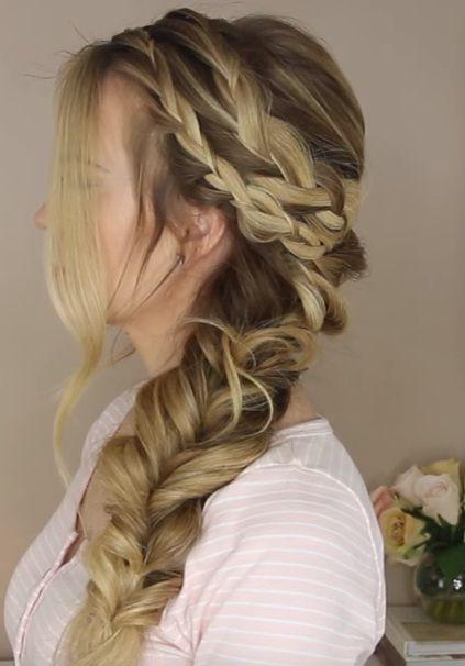 Mermaid Hairstyles The Mermaid Hairstyle  Mermaid Hairstyles Mermaid And Prom Hair