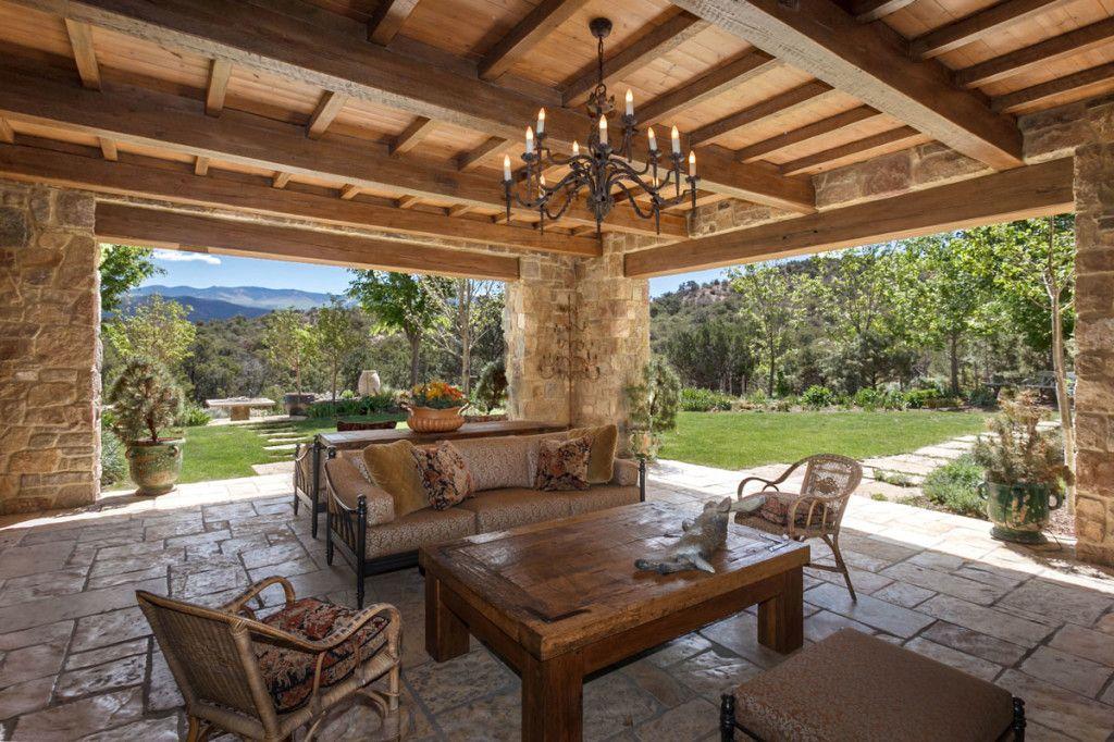 Covered terrace, Santa Fe Pergola, Covered pergola, Roof