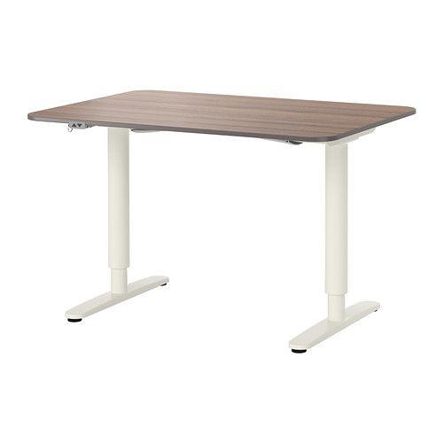 Bekant Desk Sit Stand White 47 1 4x31 1 2 Ikea In 2020 Ikea