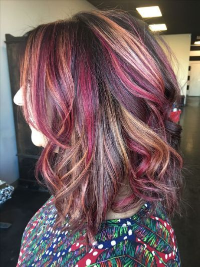 Best 25 Red Blonde Highlights Trendy Hair Color Blonde Highlights Short Hair Color