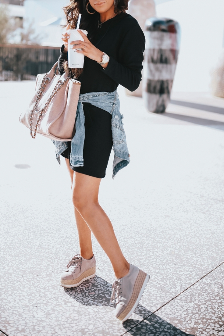 Casual Day In LA [Styling Espadrille Platform Sneaker]