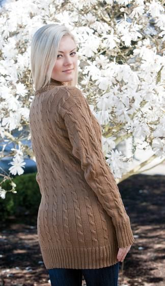 Vintage Cables Cardigan - Knitting Patterns and Crochet Patterns from KnitPicks.com