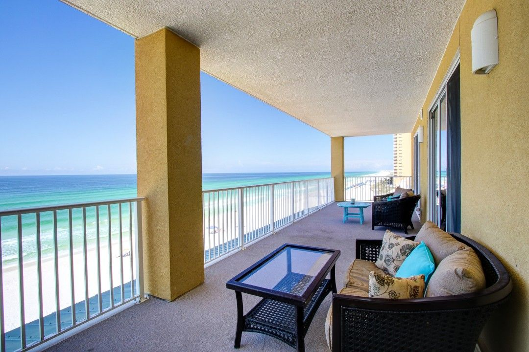 Tropic Winds 607 Fabulous 4 Br Sleeps 12 And Includes Beach Svc For 2 During The Season Realjoy Panama City Beach Panama City Beach Condos Panama City Panama
