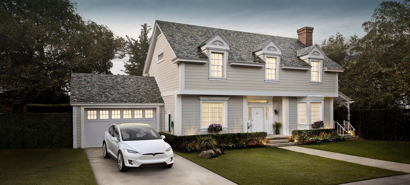 Tesla Is Now Selling These Solar Roof Tiles For Cheaper Than A Regular Roof The Sun Provides More Than Enough Ener Tesla Solar Roof Solar Shingles Solar Roof
