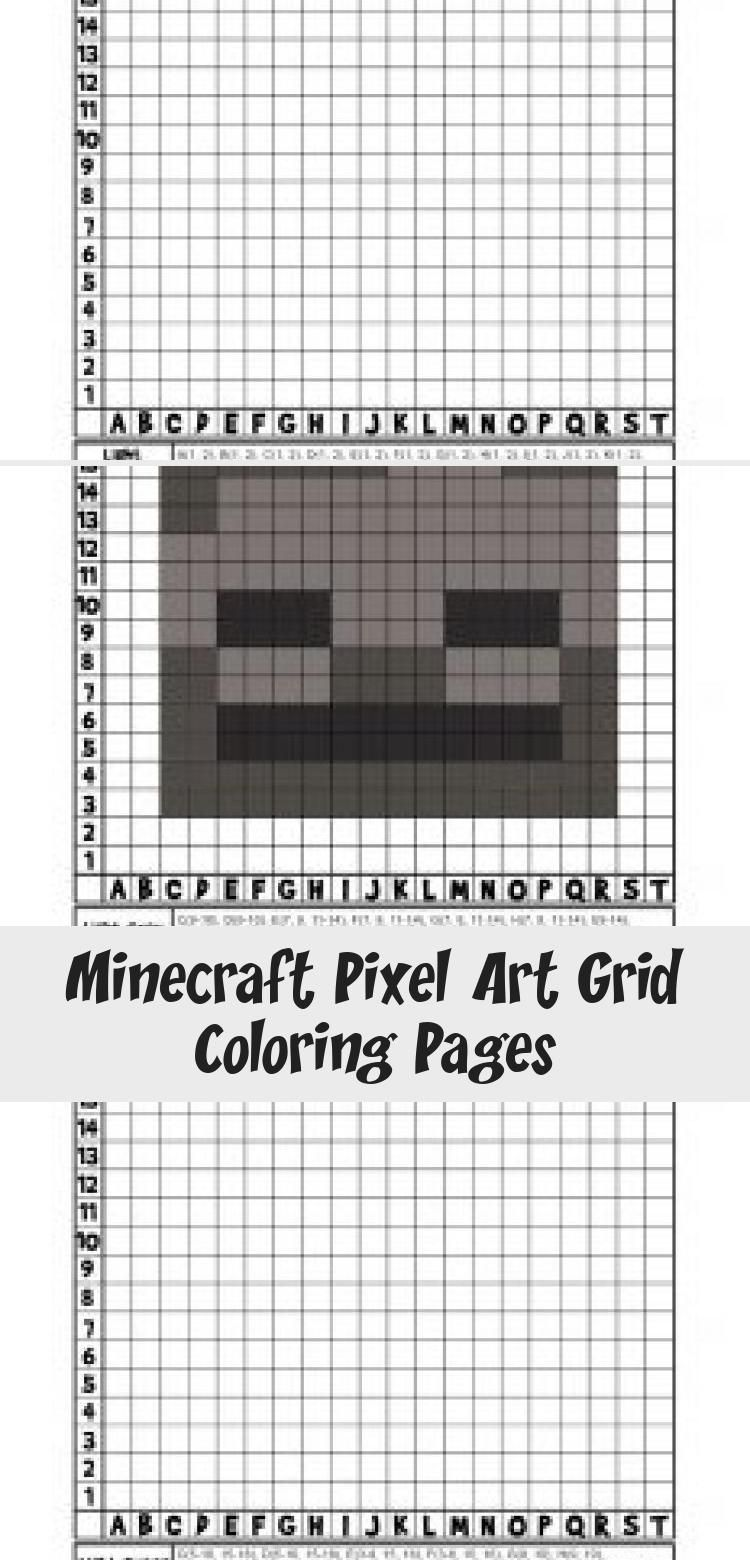 Minecraft Pixel Art Grid Coloring Pages Woo Jr Kids Activities Minecraftbirthdayparty Minecrafttutorial Min Pixel Art Grid Pixel Art Minecraft Pixel Art