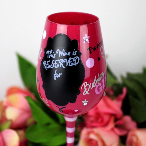 Top Shelf 21st Birthday Wine Glass Gift Baby Gift Ideas