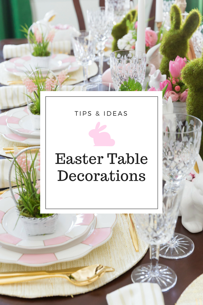 Easter Table Decorations & Place Setting Ideas   Easter table, Table ...