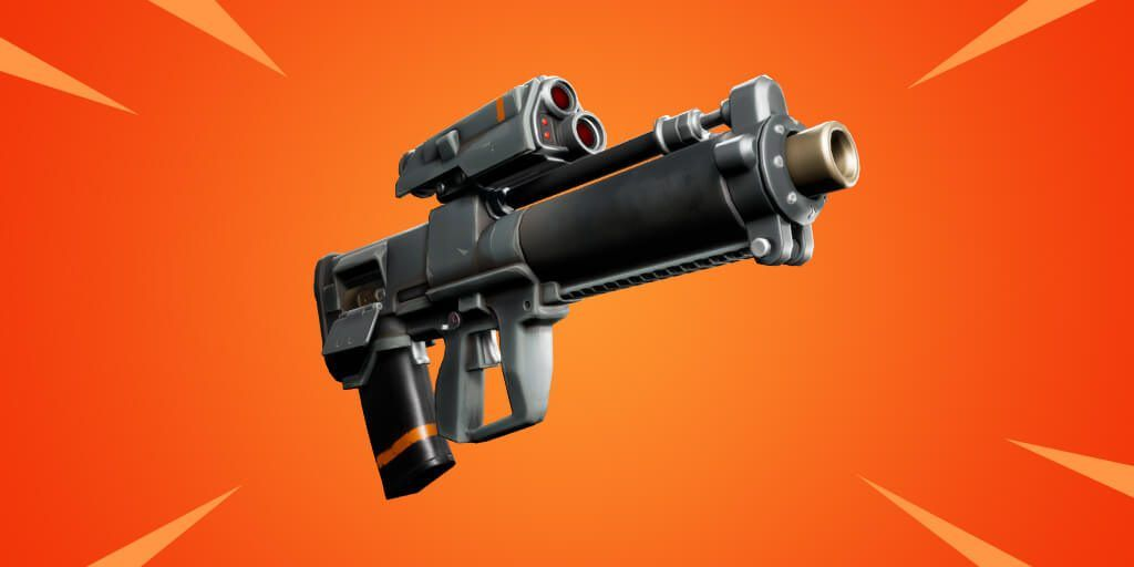 First Look At Powerful New Proximity Grenade Launcher In Fortnite V9 21 Fortnites V9 21 Added The Latest Weapon To Sh Fortnite Epic Games Fortnite Epic Games