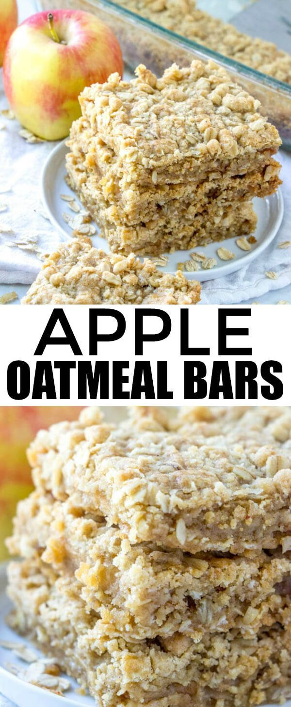 Apple Oatmeal Bars {An Easy and Delicious Fall Dessert}
