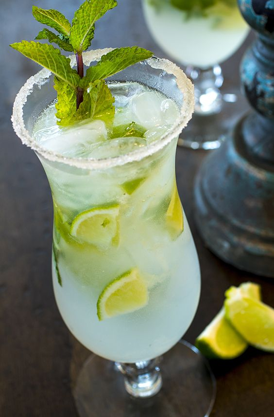 Marrakesh Mint Mojito - Marrakesh Mint Tea adds crisp and refreshing flavor to a traditional mojito. While its invigorating flavor is ideal for summer parties, this lively minty citrus blend is a great go-to cocktail for everything.