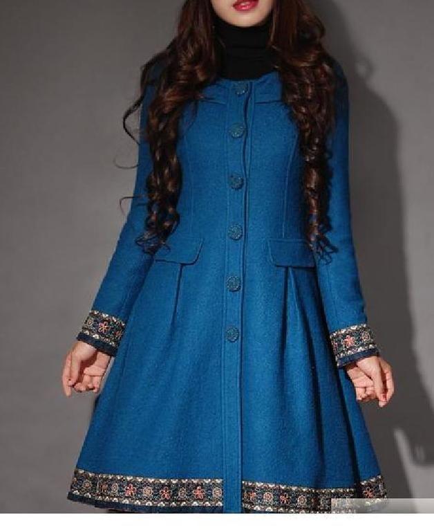 Cappotti lunghi - trench coat vintage retro manteau manto mantello - un prodotto unico di Regenbogen-Fashion su DaWanda