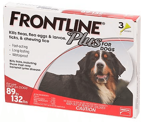 PetFlow Frontline Plus is a monthly topical flea and