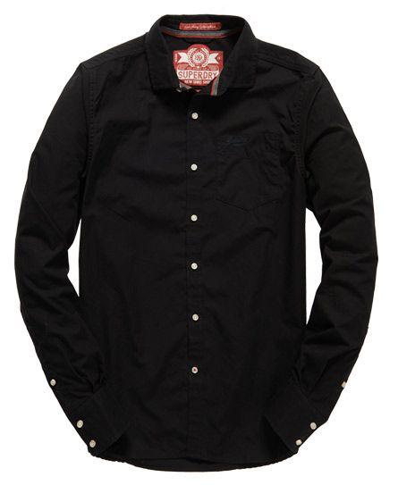 864e1782a0 Superdry Cut Away Collar Shirt
