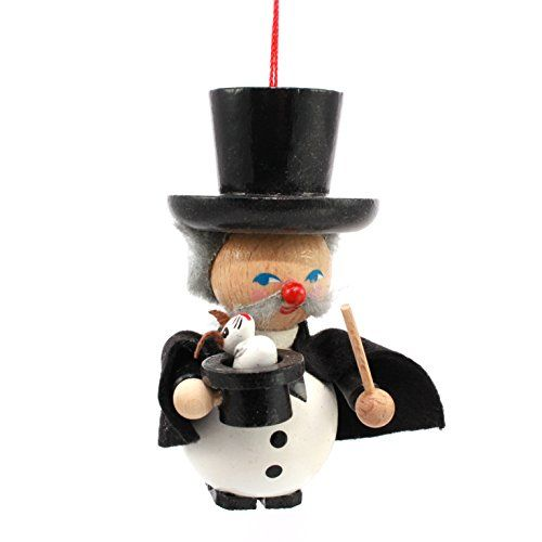 """Steinbach Christmas Decorations Hand Made 3"""" Magician"""