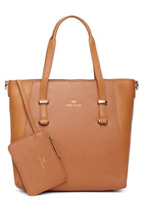 9e066665d092 Benah for Karen Walker -  Veronica  Mini Shopper in Tan
