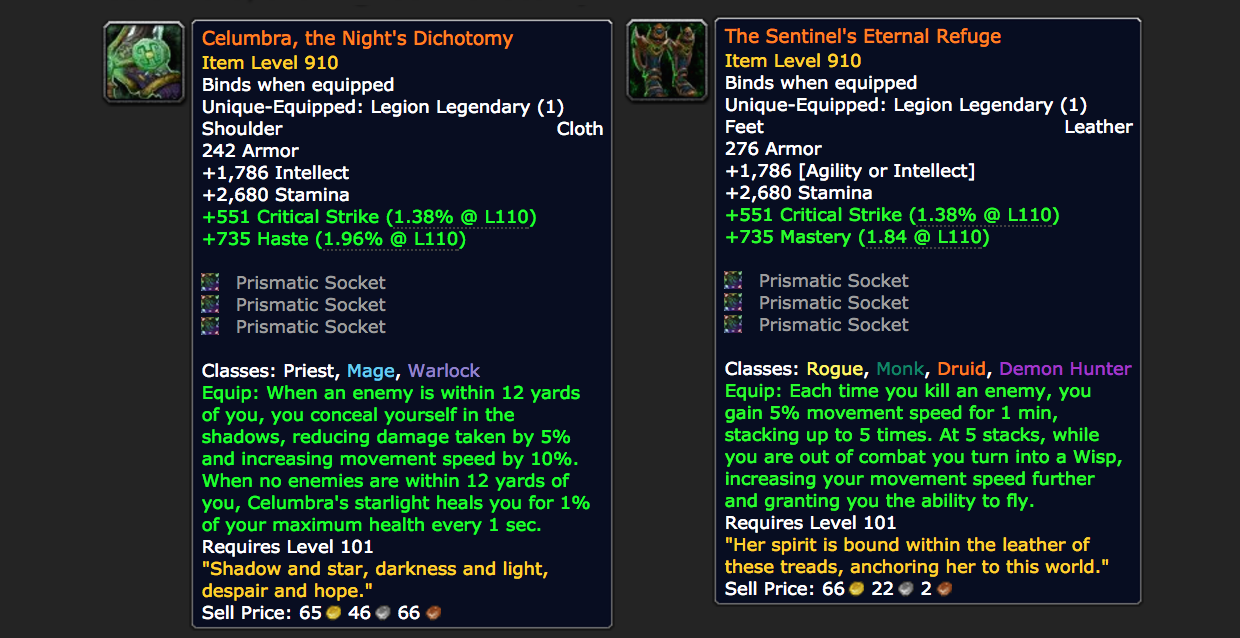 Legendary Armor: What's New in Patch 7.2