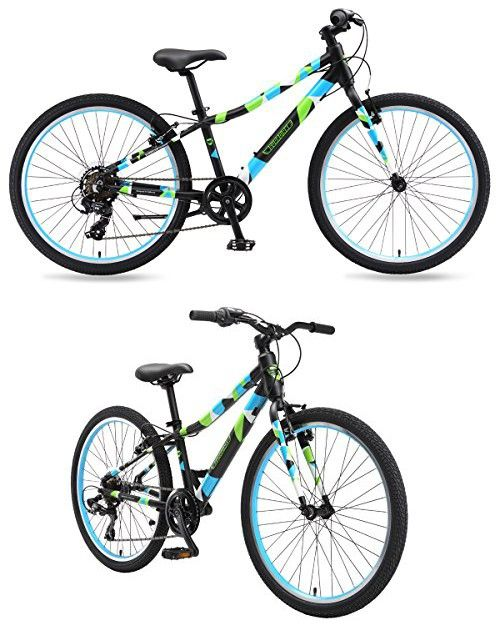 Guardian Lightweight Kids Bike 24 Inch Safe Patented Surestop