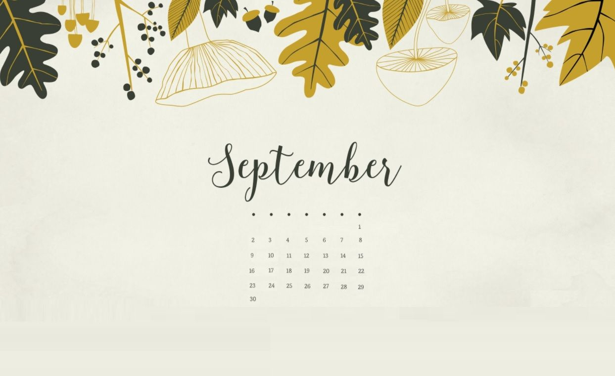 September 2018 Calendar Wallpapers Calendar 2018 Pinterest