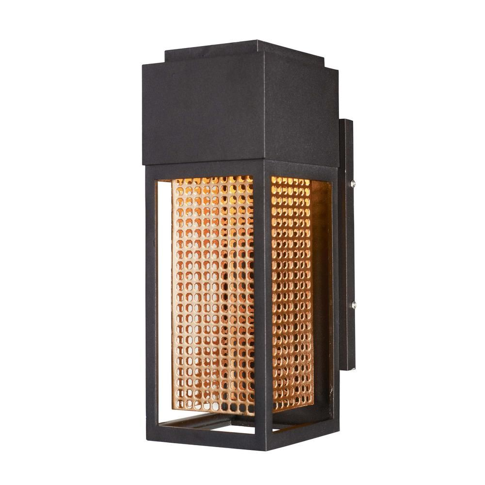 Maxim Lighting Townhouse 4.75 in. W 1Light Galaxy Bronze