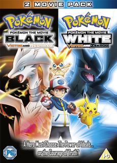 Movie 14 White Victini And Zekrom Black Victini And Reshiram