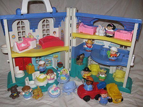 Fisher Price Little People House Doll House 90 S House For Boys