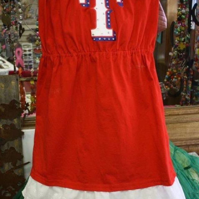 Texas Rangers cute sun dress @ Cowgirlz Candy