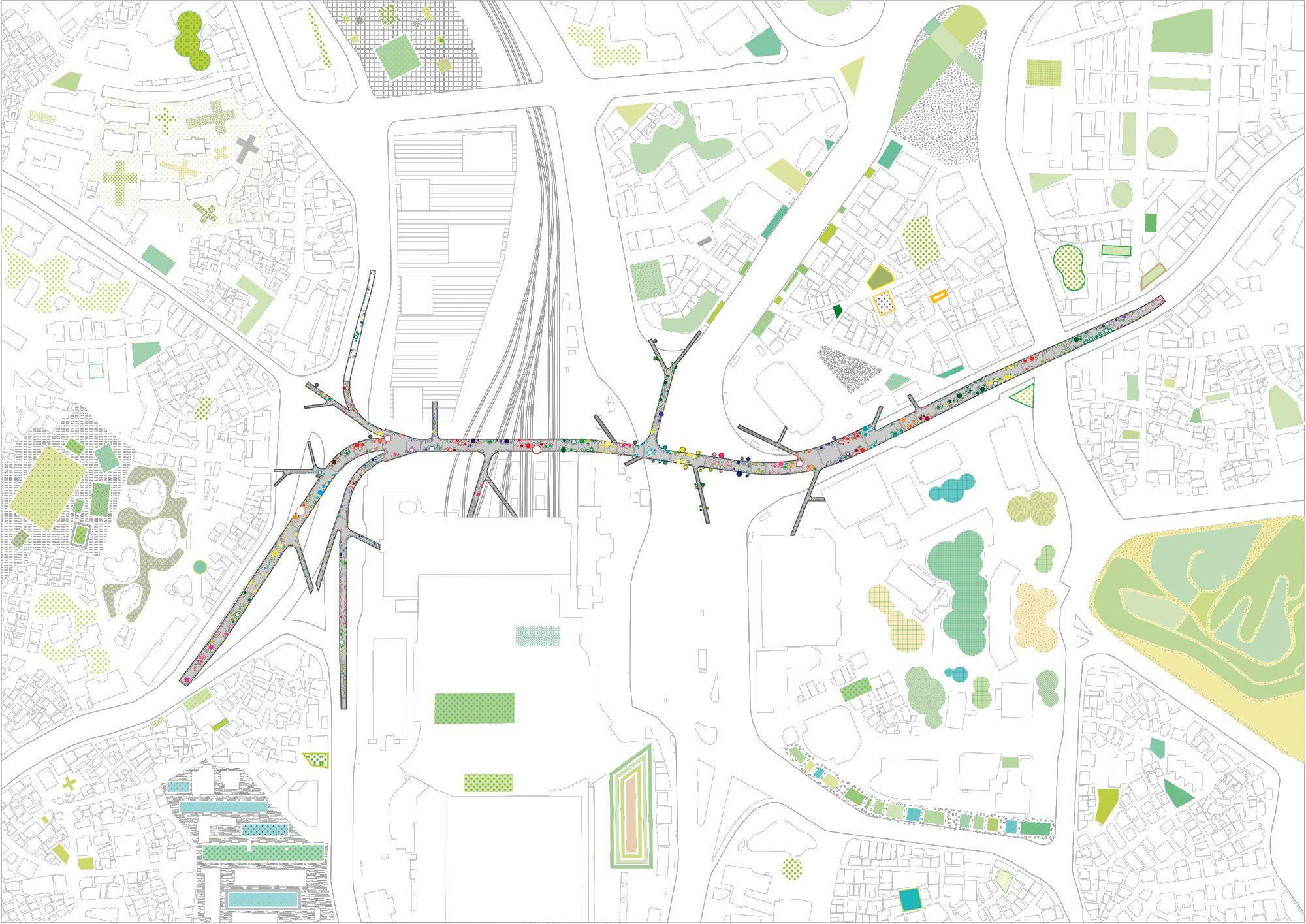 תוצאת תמונה עבור mvrdv skygarden plan Sky garden, Map