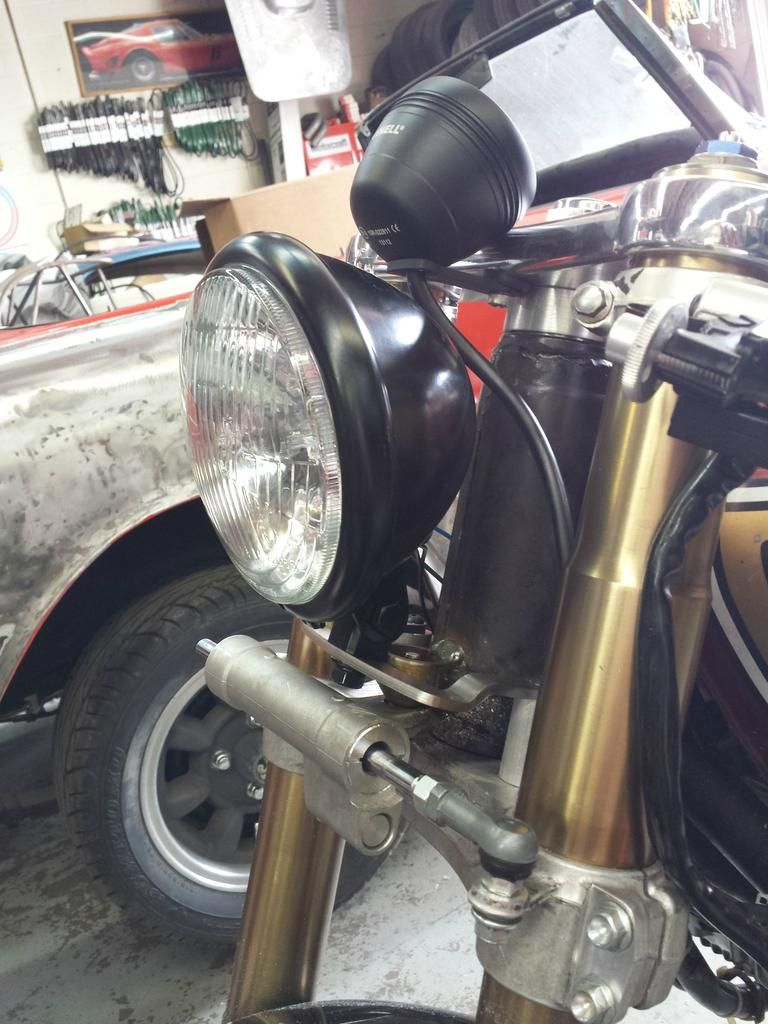 1971 CB750 with GSXR Front End   Motorcycle manifesto   Cb750