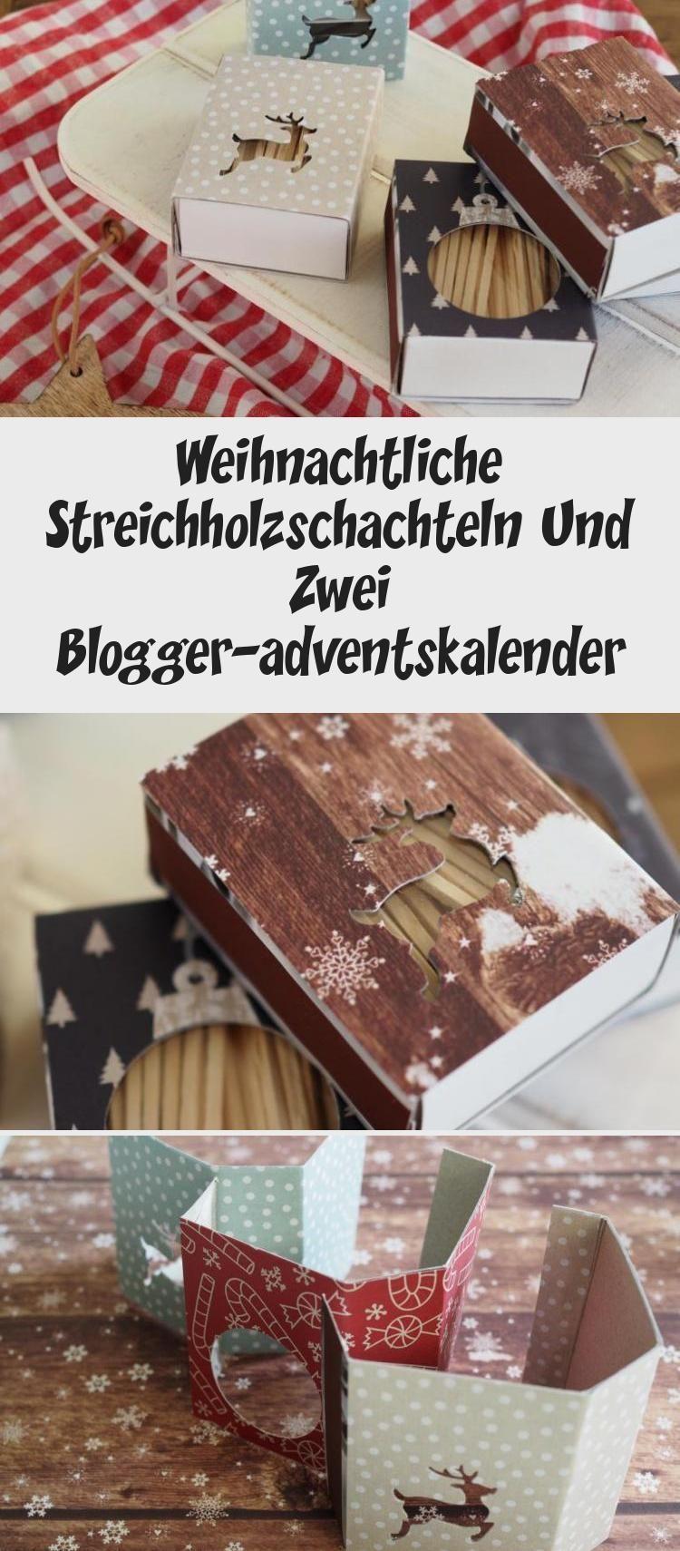 Weihnachts-Streichholzschachteln #Geschenkideen kleine DingeHochzeit #Geschenk