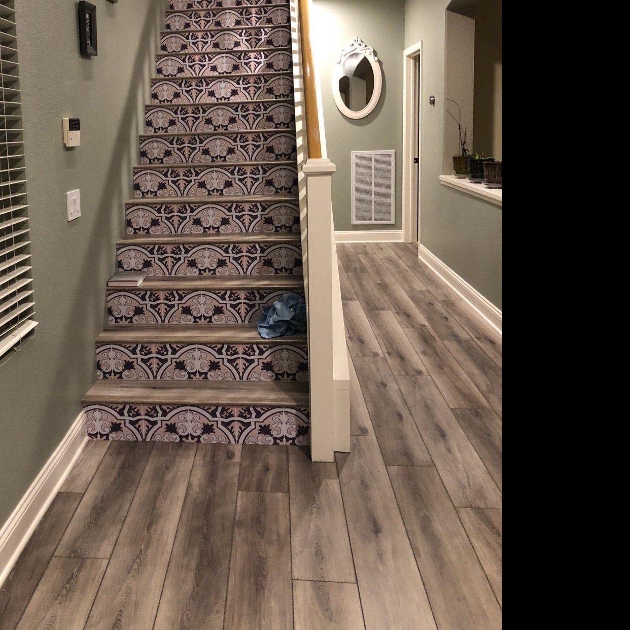 Tile Stickers Tiles For Kitchen Bathroom Back Splash Floor Etsy Vinyl Wallpaper Floor Decal Vinyl Tile