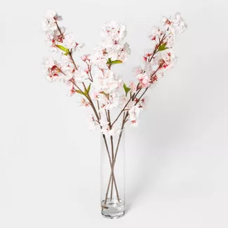 Shop Target For Artificial Flowers Indoor Plants You Will Love At Great Low Prices Free In 2020 Cherry Blossom Decor White Floral Decor Artificial Flowers And Plants