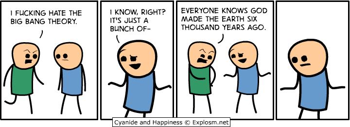 Opinion already big bang comic strip can