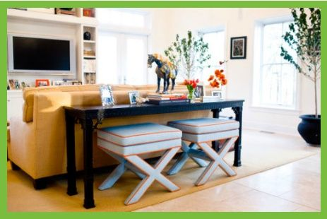 Ottomans Under Console Table Visit Info Asmarainc Com Console Table Behind Sofa Table Behind Couch Living Room Seating