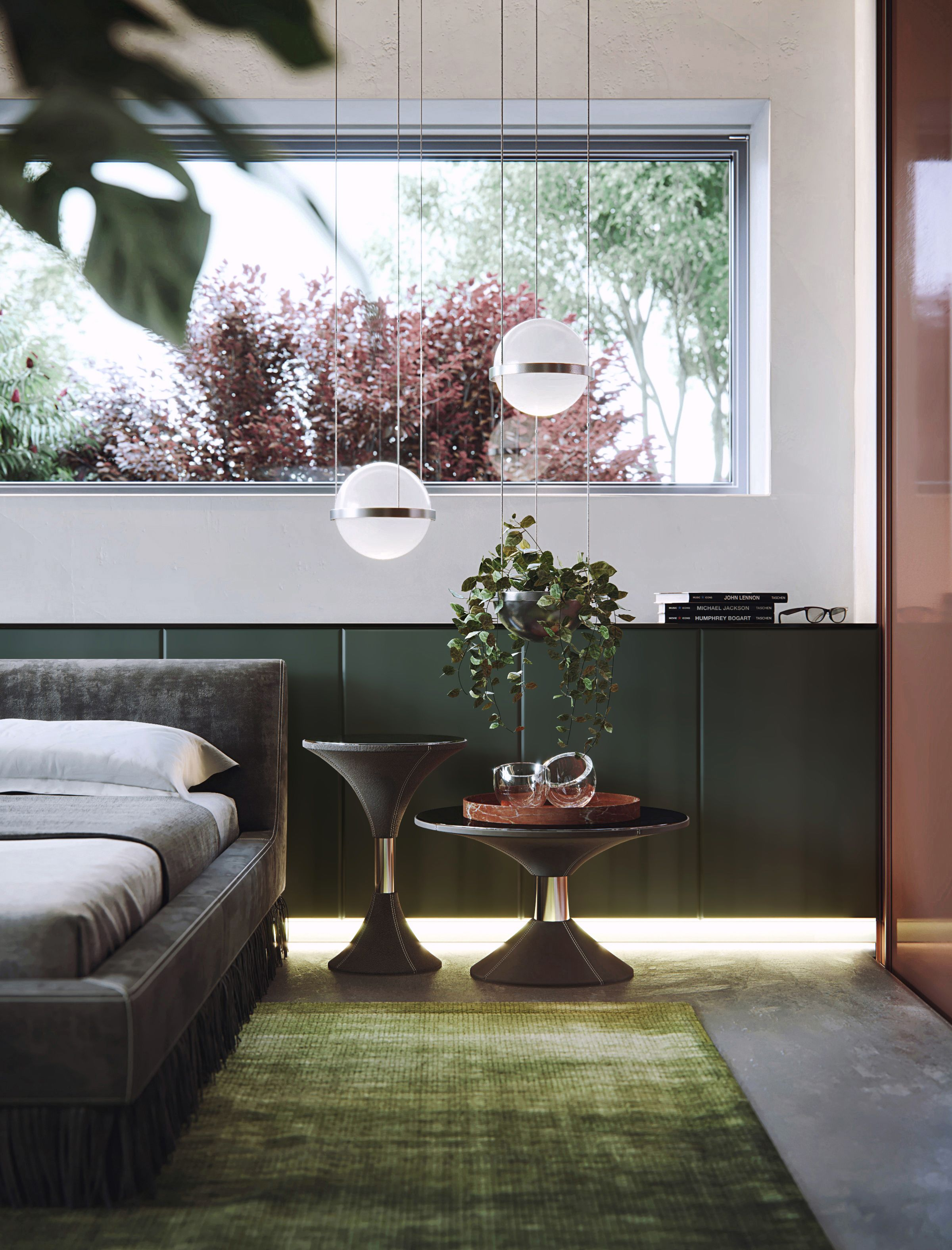 Best Modern Style Bedroom Shots Created In 3D Max And Corona 400 x 300