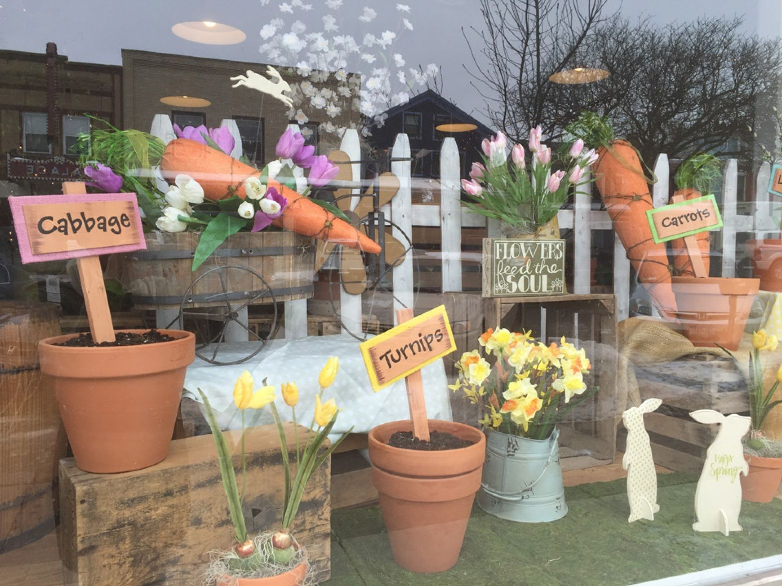 100 Creative Easter Window Display Ideas Zen Merchandiser Easter Window Display Spring Window Display Valentines Window Display