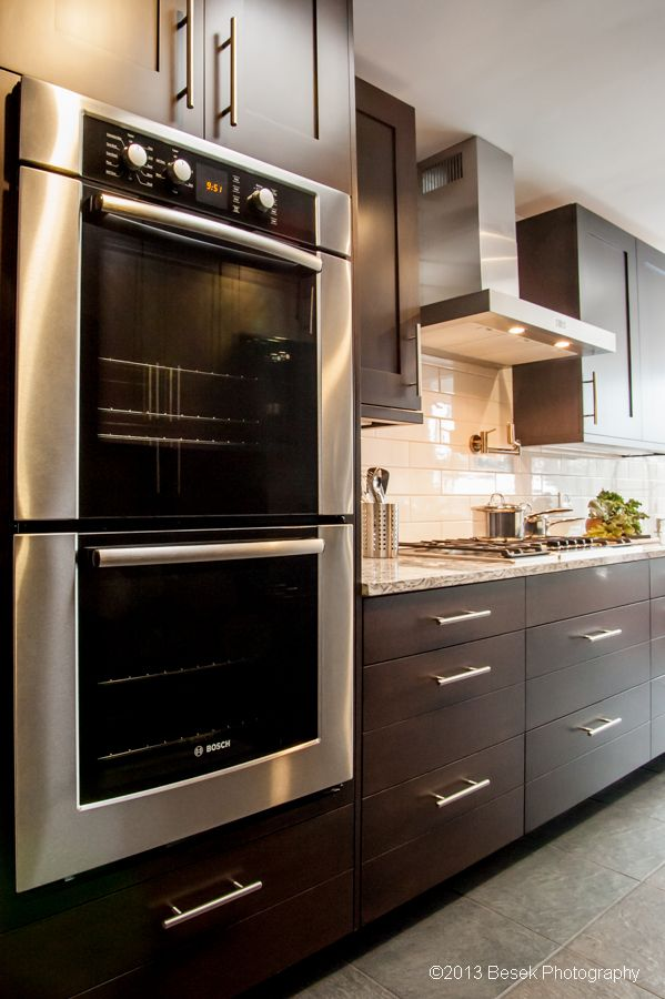 Bosch appliances with Sharer Cabinetry -//eastcoastappliance ... on
