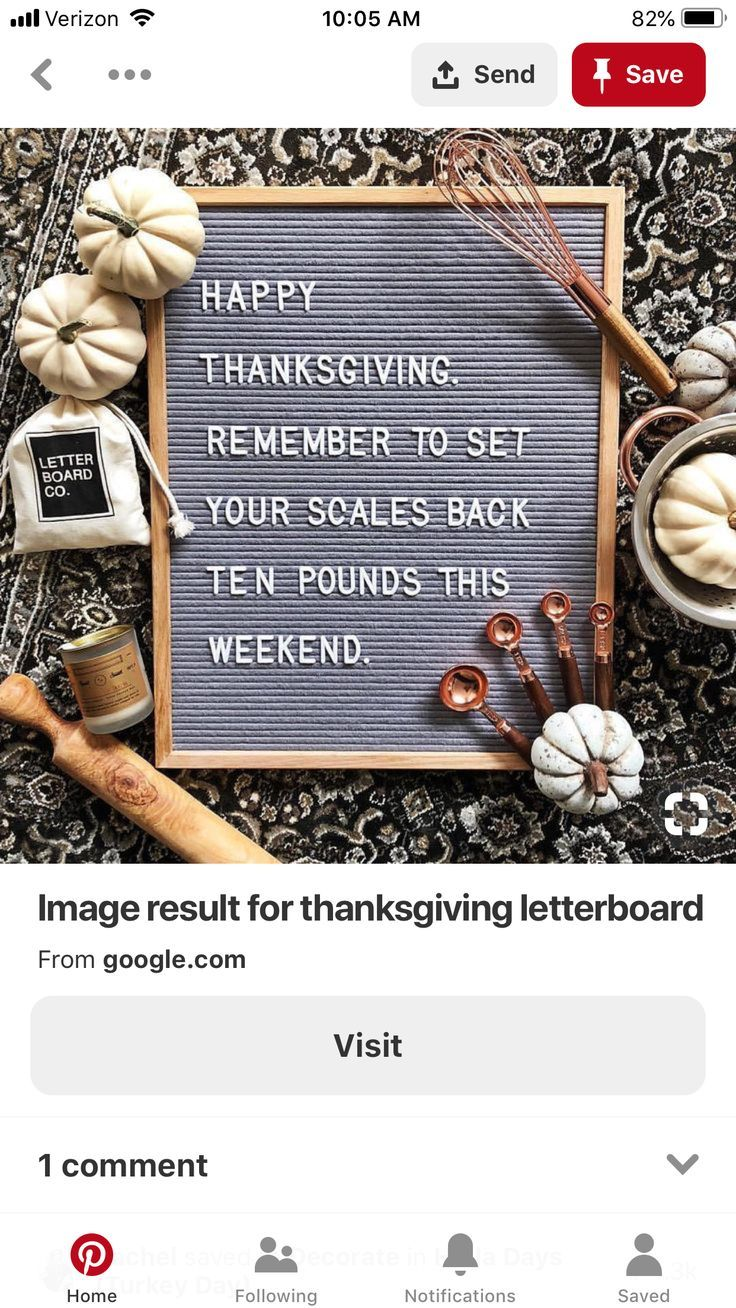 letter board happy thanksgiving remember to set your