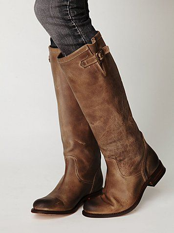 033e419ba10e amazing tall brown boots, they look so broken in and comfy... 500 dollars  what a steal!
