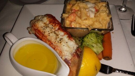Russels lobster and lobster mac and cheese