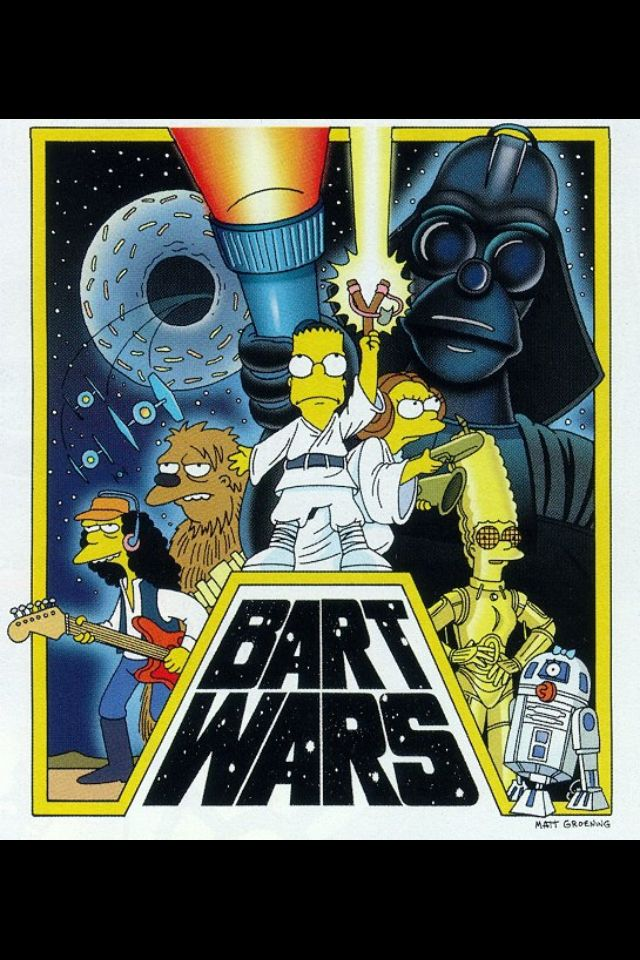 Think, star wars simpsons the nobility?