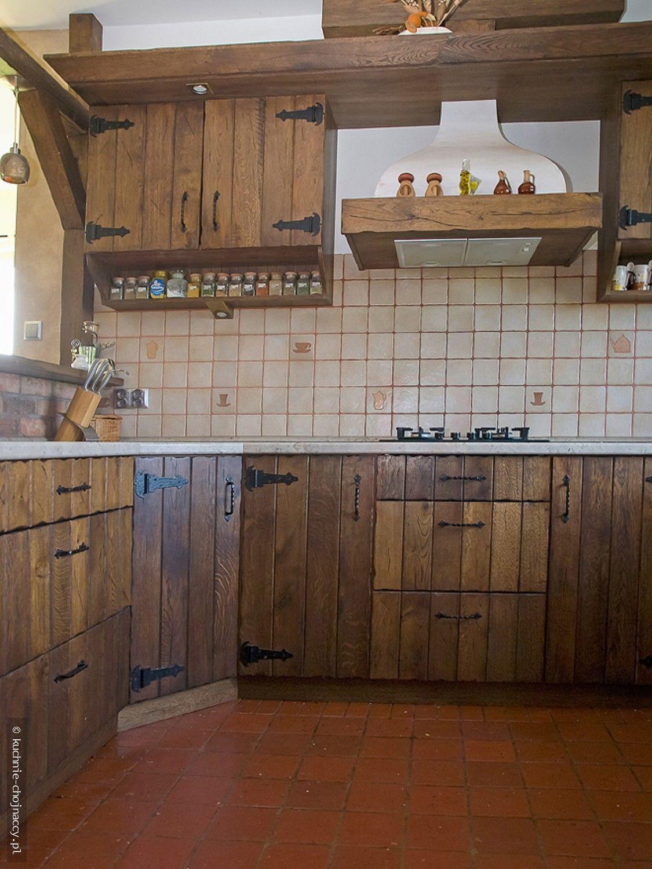 Kuchnia Wiejska Kuchnie Chojnaccy Meble Kuchenne Rustykalne Tradycyjne Nowoczesne Home Home Decor Decor