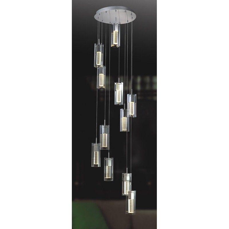 Moderner Hangelampe 11x35w Gu4 Mr11 Verizon Md109003 11b Italux Hange Lampe Lampe Beleuchtung Decke