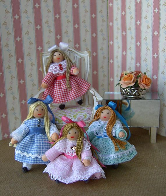 AUTUMN SALE.....Red or Green left. Dollhouse dolly for a